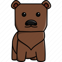animal, bear, cute, jungle, nature, zoo icon