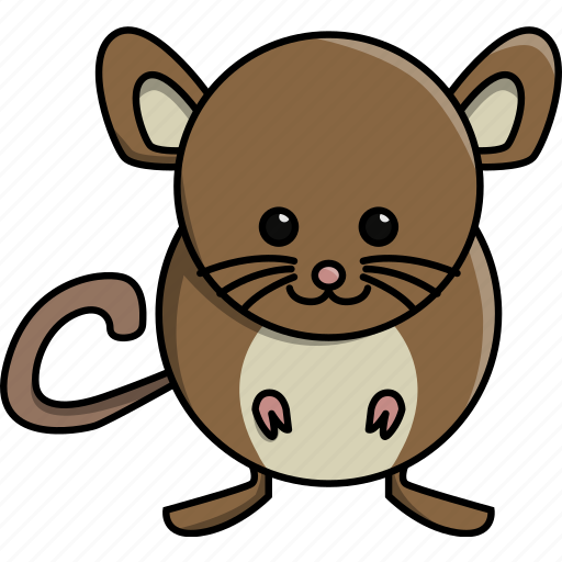 animal, cute, domestic, mouse, nature, rat icon