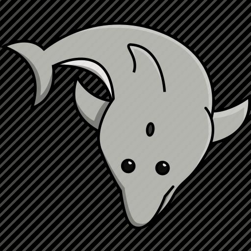 animal, aquarium, cute, dolphin, fish, nature, sea icon