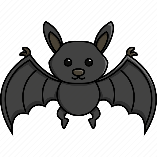 animal, bat, cute, fruit, nature, zoo icon