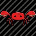 animal, aquarium, crab, cute, fish, nature, sea icon