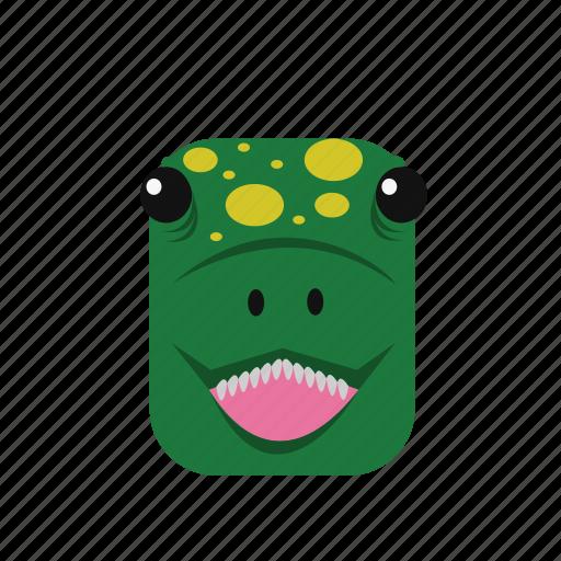 animal, dinosaur, icon icon