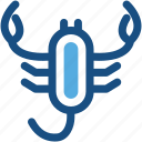 animal, lobster, scorpion, sea life, seafood icon
