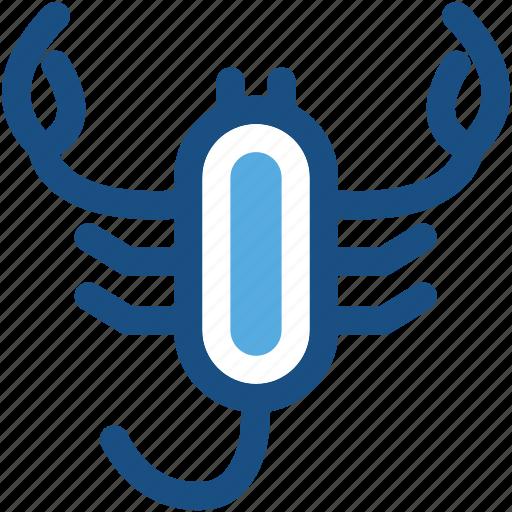 animal, lobster, scorpion, sea life, seafood icon
