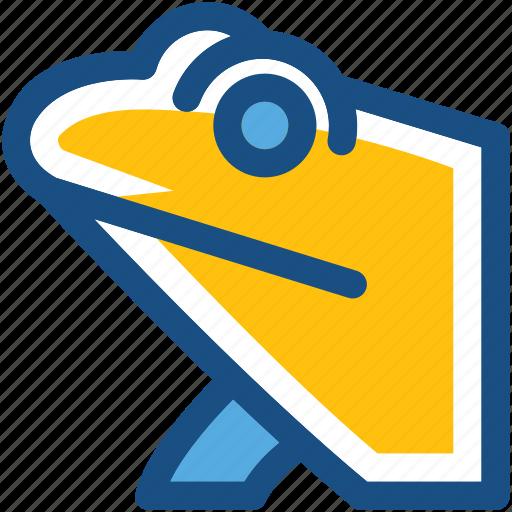 amphibian, animal, chameleon, frog, toad icon