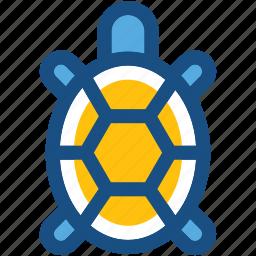 amphibian, animal, reptile, tortoise, turtle icon