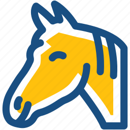 animal, bronco, colt, horse, mare icon