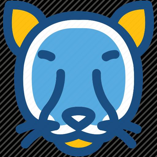 animal, cat, coon, feline, lynx icon