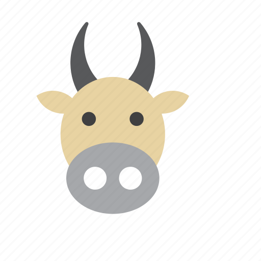 animal, bovine, cow icon