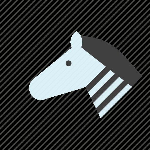 animal, horse, zebra icon