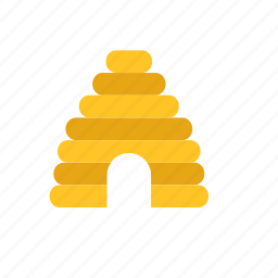 animal, bee, beehive, house icon
