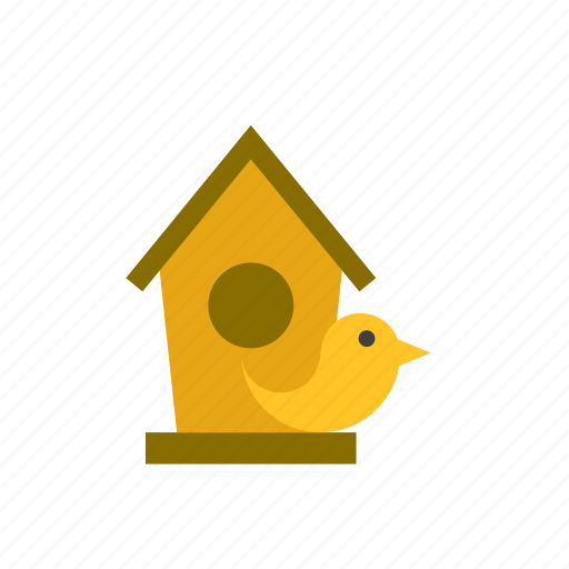 animal, bird, birdhouse icon