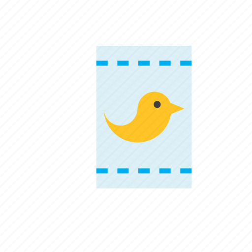 animal, bag, bird, food icon