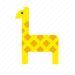 animal, giraffe icon