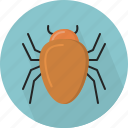 antenna, beetle, bug, creature, insect, mouth part, parasite icon