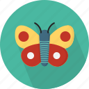butterfly, flutter, fly, insect, larvae, metamorphosis, wings icon