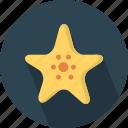 aquatic, asteroidea, beach, oceanic, sea, star-shaped, starfish icon