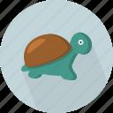 aquatic, chelonii, reptile, testudine, turtle, underwater, wildlife icon