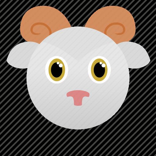 animal, aries, goat, wild, zoo icon