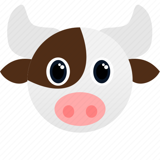 Animal, cow, face, farm icon - Download on Iconfinder