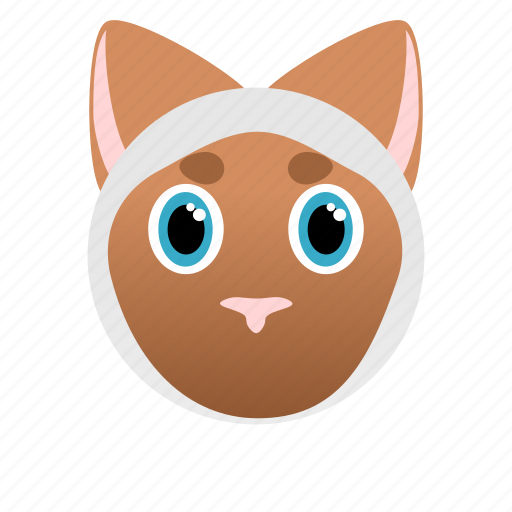 Animal, cat, domestic, face, hunter, pet icon - Download on Iconfinder