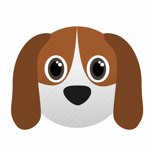 Animal, beagle, dog, domestic, face, pet icon - Download on Iconfinder