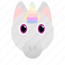 animal, fantasy, horse, unicorn icon