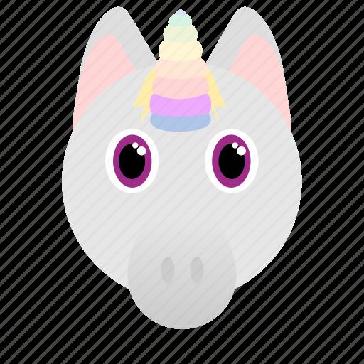 Horse, animal, unicorn, fantasy icon - Download on Iconfinder