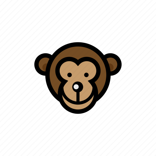 animals, monkey, pets, zoo icon