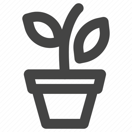 flower, garden, nature, plant, pot icon