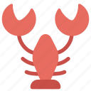 animals, food, lobster, nature, seafood icon