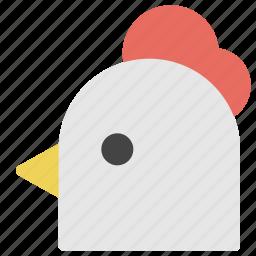 animals, chicken, nature, poultry, turkey icon