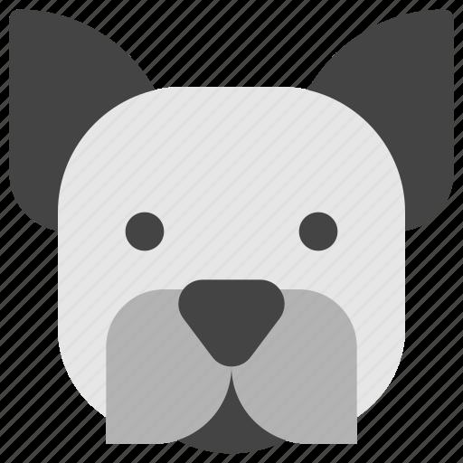 animals, dog, face, head, nature, pet icon