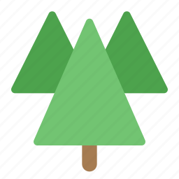 energy, environment, forest, green, nature, plant, trees icon