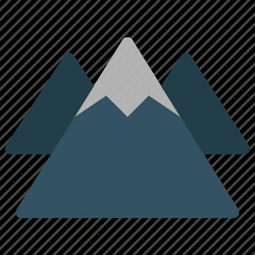 animals, climbing, environment, landscape, mountain, nature, rock icon