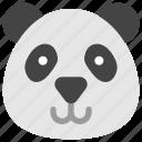 animals, bear, face, head, nature, panda
