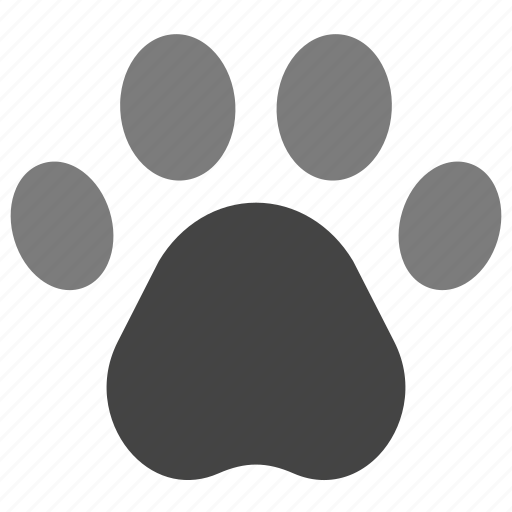 animals, domestic, foot, nature, paw, pet, print icon
