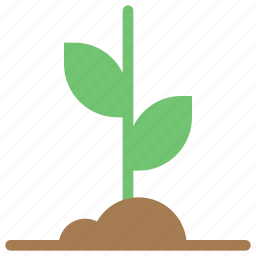 ecology, energy, gardening, green, growth, life, startup icon