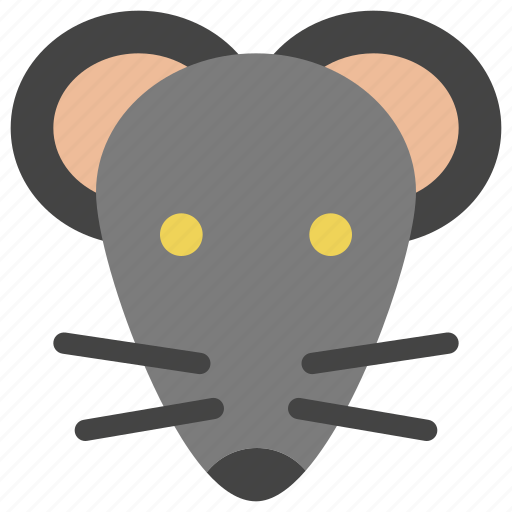 animals, head, mice, mouse, nature, rat, rodent icon