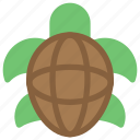 animals, nature, sea, slow, turtle icon