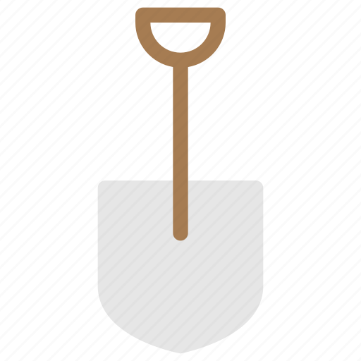 object, objects, shovel, tool icon