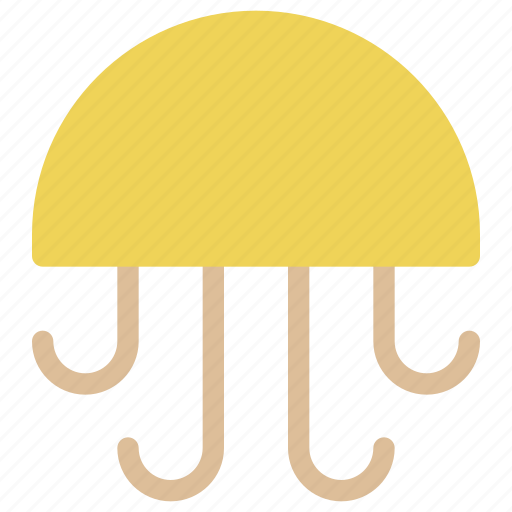 animals, jellyfish, medusa, nature, posionous, sea, travel icon