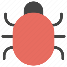 animals, bug, disease, insect, smiley, virus icon