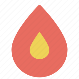 energy, fire, flame, healthcare, medical, nature icon