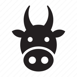 animal, bovine, cow icon