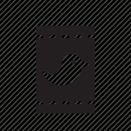 animal, bag, bird, food, pet icon