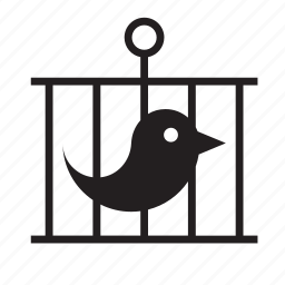 animal, bird, cage, pet icon