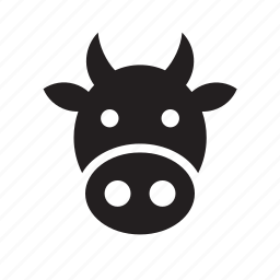 animal, beef, bovine, cow icon