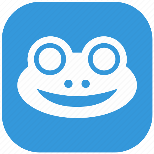 animal, frog, head, nature, zoo icon