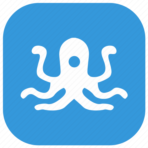 animal, nature, ocean, octopus icon